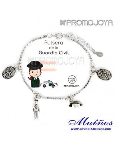 pulsera de la guardia civil promojoya