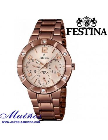 Reloj color chocolate mujer Festina
