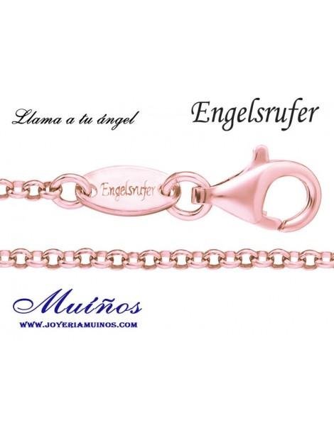 Cadenas plata bañada en oro rosa 2.1mm Engelsrufer