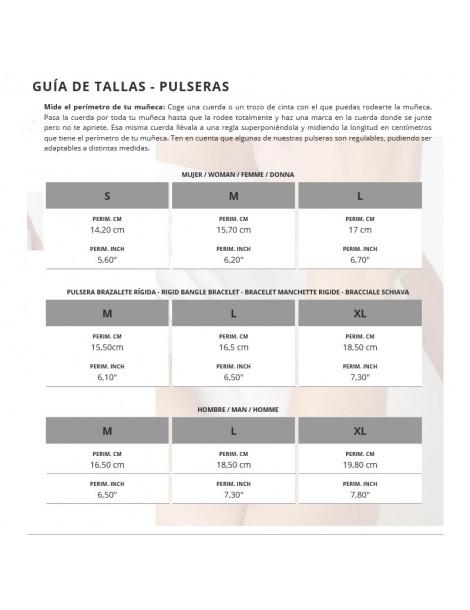 GUIA DE TALLAS UNO DE 50
