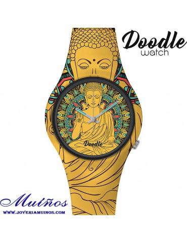 reloj Doodle buda tatuajes