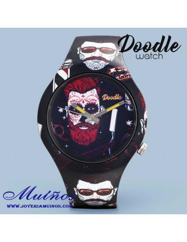 Reloj doodle hipster do42001