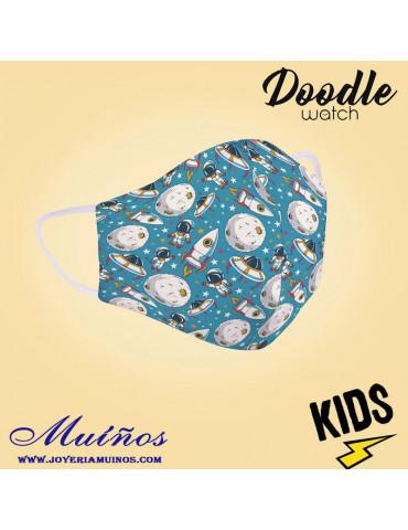 mascarillas niños astronautas dmk001