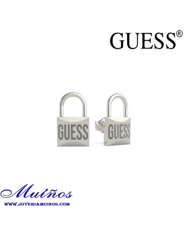 pendientes guess lock me up