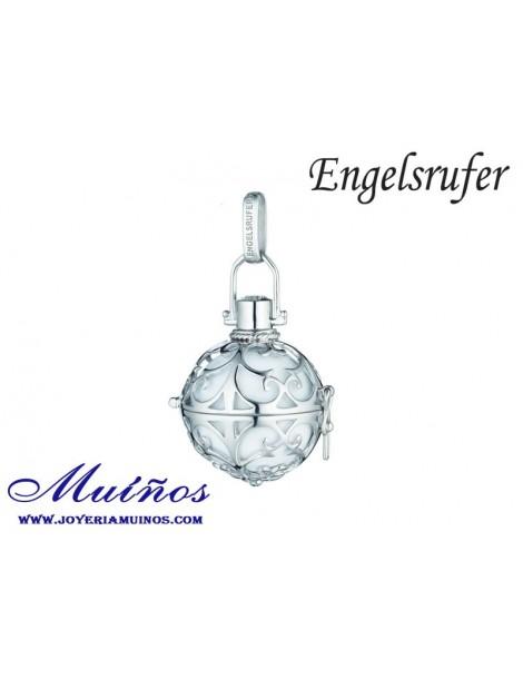 Llamador de ángeles plata blanco Engelsrufer (3 tamaños)