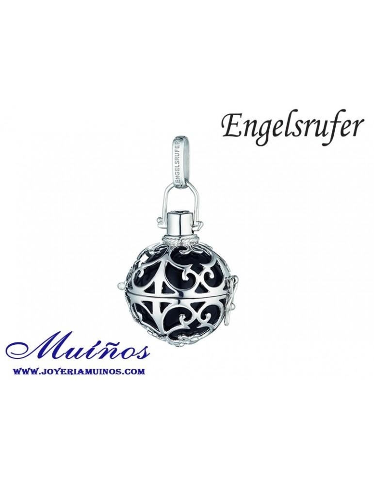 Llamador de ángeles plata negro Engelsrufer (3 tamaños)