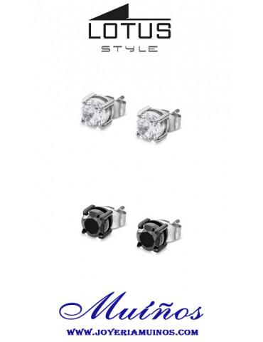 Pendientes hombre lotus style ls2167