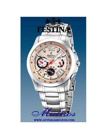 reloj festina crono hombre f16291