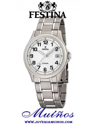 Reloj festina titanio f16459/1