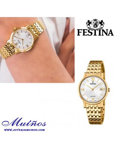 Reloj Swiss made FEstina f20021/1