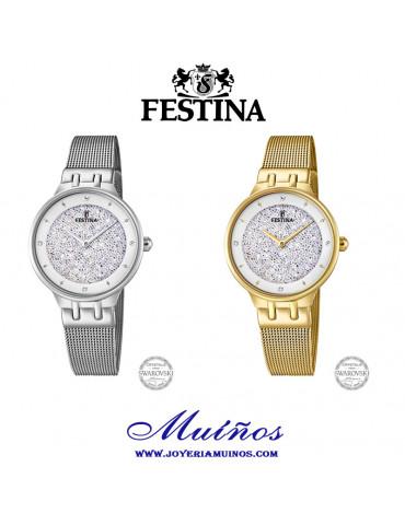 reloj festina swarovski f20385/1