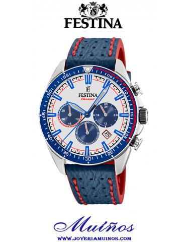 festina f20377/1 reloj crono deportivo