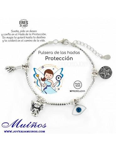 pulsera de la protección plata