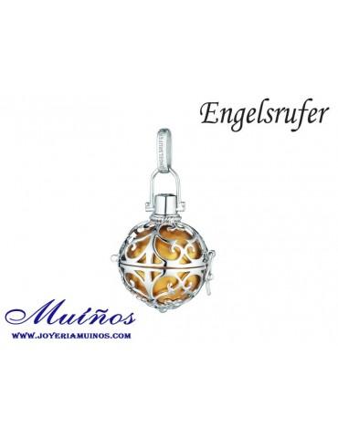 Llamador de ángeles dorado marrón Engelsrufer (3 tamaños)