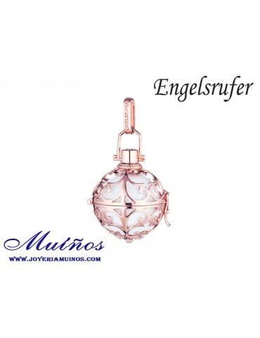 Llamador de ángeles plata bañada en oro rosa Engelsrufer (3 tamaños)