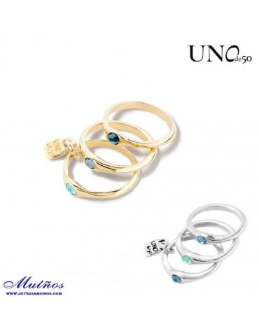 Anillos Happy Blue ani0678 uno de 50