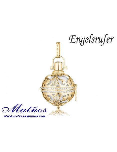 Llamador de ángeles circonitas plata Engelsrufer