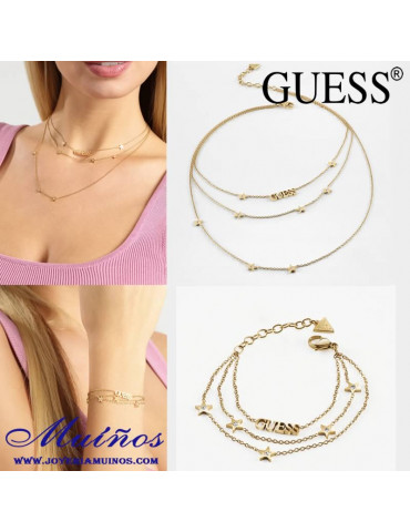 pulsera y Collar Guess a star is born