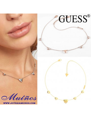 Guess is for lovers collares