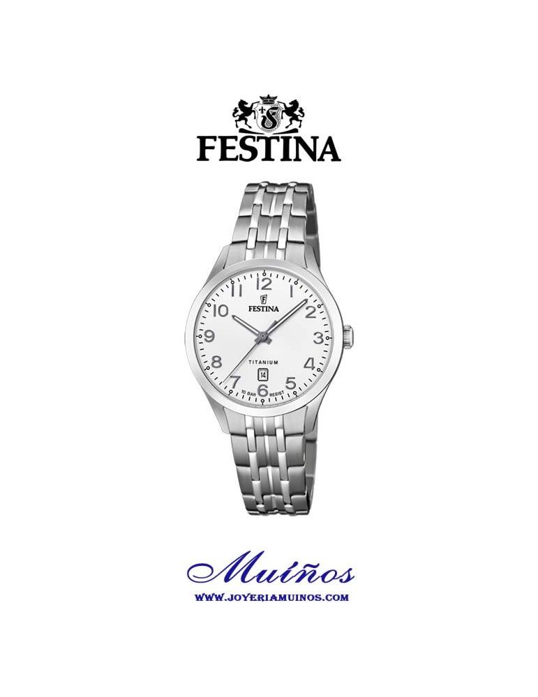 Reloj Titanio mujer FEStina