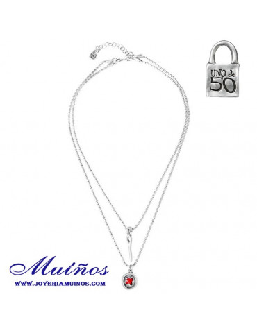 Collar Uno de 50 Lady in red