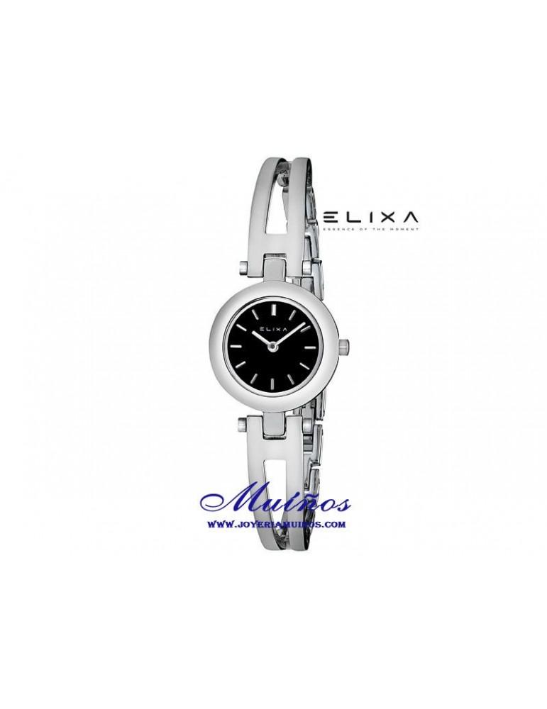comprar el más nuevo mejor calidad venta más caliente Reloj Elixa Beauty mujer brazalete fino acero