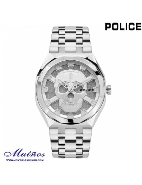 reloj police calavera