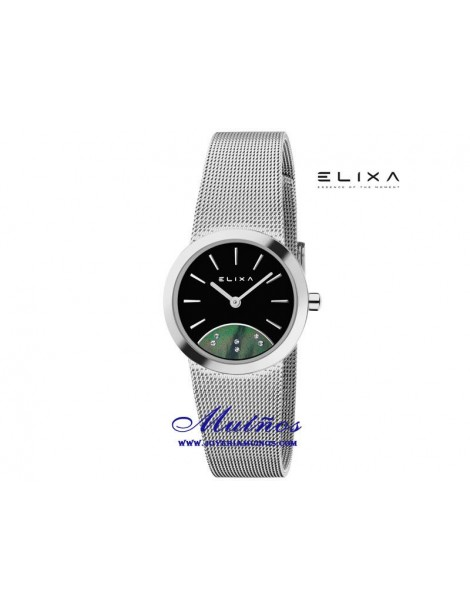 Reloj Elixa Beauty con correa milanesa diferentes colores