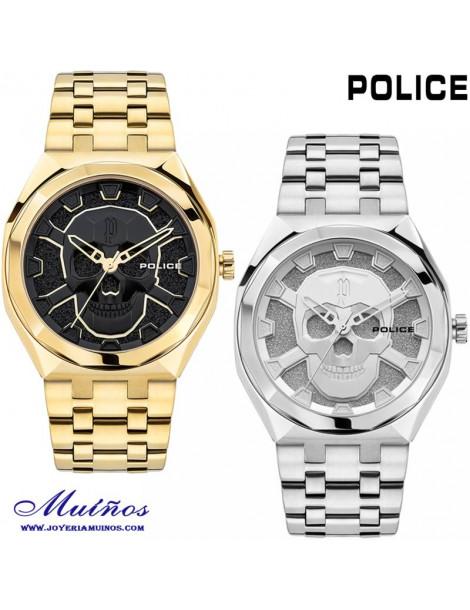 reloj calavera police