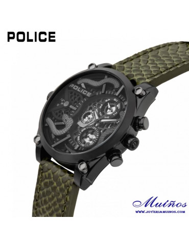 reloj police serpiente vigor