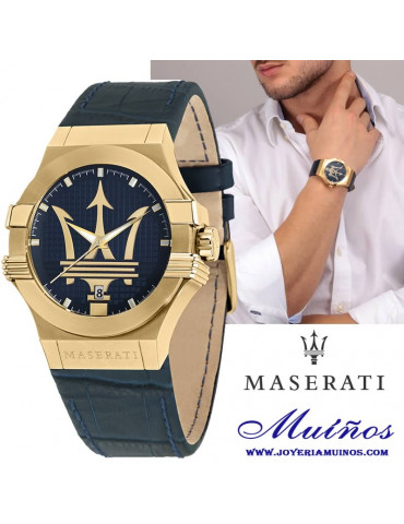 reloj maserati potenza hombre
