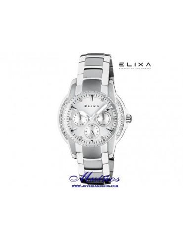 Reloj Elixa Enjoy multifuncion acero diferentes colores