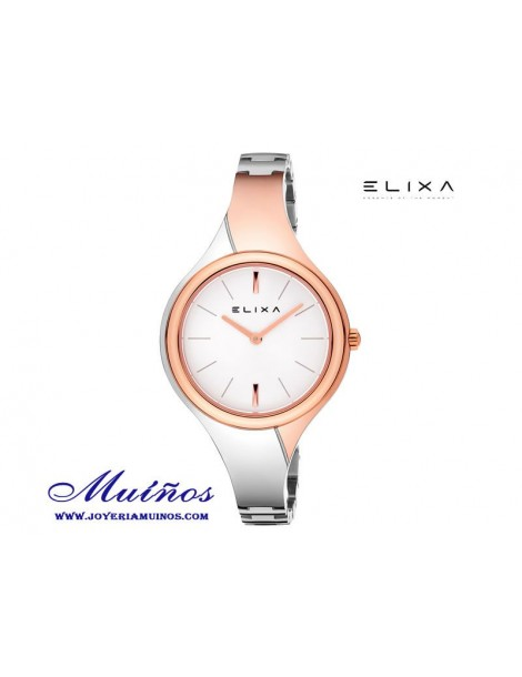Reloj Elixa Beauty mujer bicolor