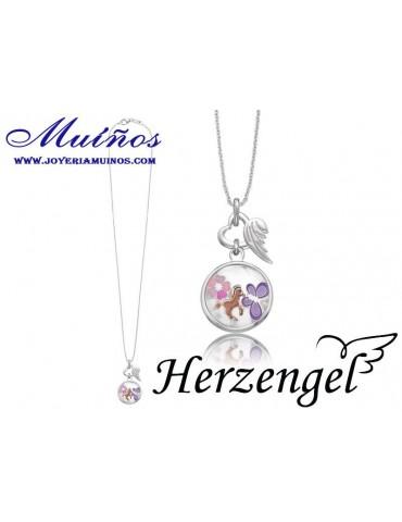 Colgante plata niña Herzengel