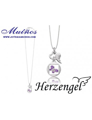Colgante plata niña Herzengel mariposa