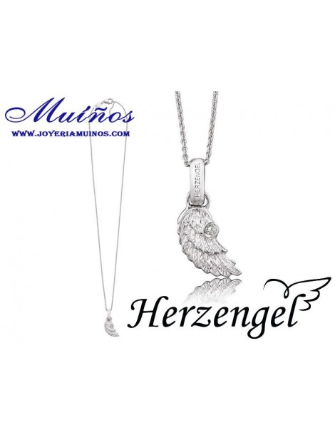 Colgantes plata niña Herzengel alas de ángel.