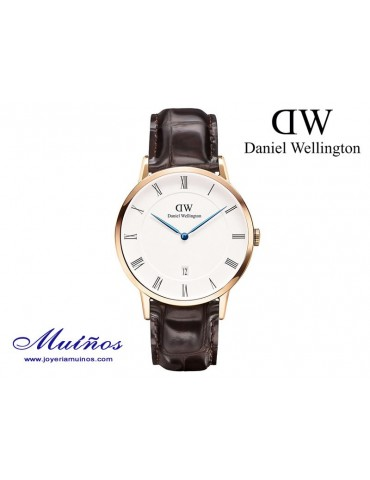Reloj caja oro rosa Dapper York Daniel Wellington 38mm