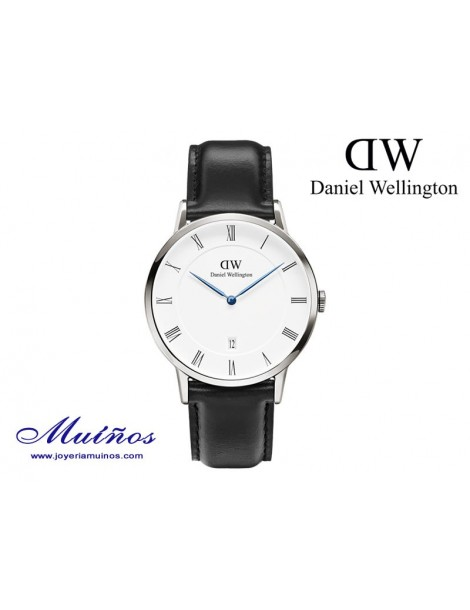 Reloj caja plateada Dapper Sheffield Daniel Wellington 38mm