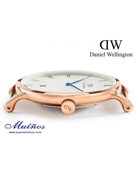 Reloj caja oro rosa Dapper St Mawes Daniel Wellington 38mm
