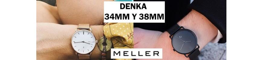 Relojes Meller Denka con correas Milanesas