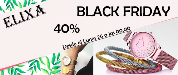 Relojes Elixa Black Friday