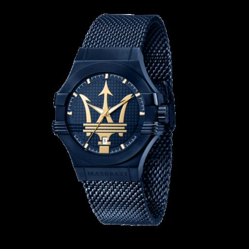 maserati potenza azul reloj