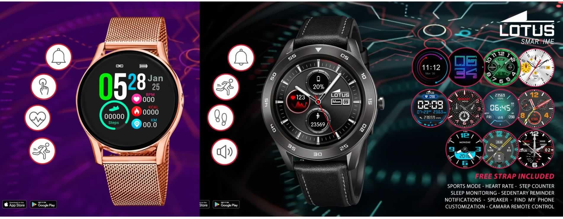 Relojes Smartime Lotus Smartwatch